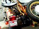 """自制柴油""""第聂伯""""MT16边三轮摩托车  发动机德国哈茨2G40【www.2qyy.com】"""