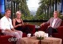 Kellie Pickler and Derek Hough on Ellen Show