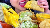 【phan】助眠脆玉米卷配芝士酱(吃的声音)不说话吃的节目(2020年1月11日13时15分)