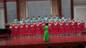 """草原情合唱团在""""16届城市之光合唱音乐会""""演唱的二首歌曲"""