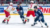KHL海军上将余威犹在 万科龙1-2憾负结束客场征程