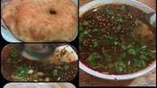 【特色早餐】豆腐脑,油饼,包子豆浆+传统五仁月饼~