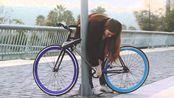 号称偷不走的自行车?根本找不着锁在哪,小偷看到得崩溃!