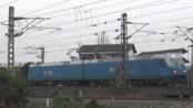 [火车]HXD1+25B[K4185]福州-广安 襄渝铁路黄家坝下行