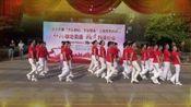 赣州市梅关社区江韵华府舞蹈队全体队员习舞(可爱的祖国)