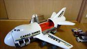 模型飞机玩具!白色客机飞行器,儿童玩具飞机总动员