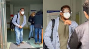 青岛3名外籍人士插队做核酸检测 工作人员:给个面子 让他们先测