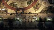 阳江市人民广场开放后的热闹夜景