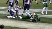 【集锦】NFL常规赛-米歇尔三达阵 爱国者33-0喷气机豪取七连胜