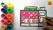 儿童学绘画:如何画一个账单,非常简单