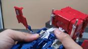 【豌豆模玩】第142期 变形金刚 MP44-擎天柱3.0 视频分享(下)