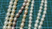 出三份珍珠福袋,一份琉璃跟珠子,一卷0.3kc金铜丝