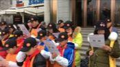 北京市仁爱慈善基金会上海莘松心栈2018年2月10日奉送爱心粥 摄影Helen Micheal
