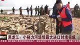 受持续强降雨影响,黑龙江宝清县遭洪涝灾害,河流水位超历史极值