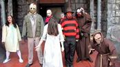 恐怖之夜,怪物之门即将打开,各恐怖大片主角出现!猛鬼街,杰森