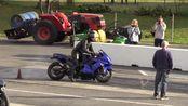 直线加速赛H2 Kawasaki vs Ducati vs GSXR Suzuki and Aprilia rsv4 vs Hayabusa