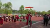 【辽宁】鞍山旗袍会员在公园上演一场旗袍秀