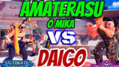 街霸5AE Daigo (Guile) VS Amaterasu _O_MIKA (R.Mika)