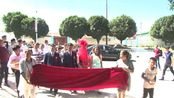 哈萨克传统婚礼-揭面礼,马合沙提·达吾提&艾丽努尔·塔斯恒、Mahsat&Alinur