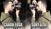 【油管大神告诉你】现实世界比较佳能EOS R + 85mm 1.2与Sony A7III + 85mm 1.4哪个更适合你【Manny Ortiz】