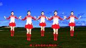 草原情怀广场舞《草原绿了》蓝蓝天空绿绿的地,醉人好看!