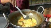 【印度美食】印度街头早点摊,看起来一点不方便的方便面and咖喱通心粉