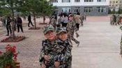 绥化市第三中学18级军训检阅1年8班2