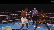 重温拳击界经典战役 泰森VS安东尼·约书亚 重拳将对手打飞