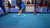 3个台球黑科技,第1个台球桌能显示击球线路,让你轻松打出147分