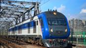 【跨海列车】海口-K512-上海南由DF11G0166+0148通过广州珠江大桥西桥
