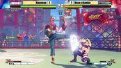 SFV CE Nauman (Sakura) vs Nazo chanko (RMika) FT3 Battle lounge