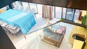 海南三亚-爱上山-商业Loft-两房75平-7.2米阳台-实景(可按揭)