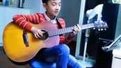 孩子的吉他弹唱(贝加尔湖畔)