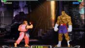 PS1《CAPCOM vs SNK 2000 PRO》(日版)街机模式最高难度EX-沙卡特和火引弹一命全胜通关