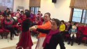 庆祝2020年元旦暨政和苑健身队成立十周年联欢会(集体双人舞 陪你一起看草原)