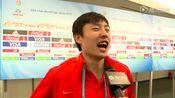 【采访】郑龙:收获进球无比开心 最期待与梅西同场竞技
