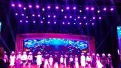 中国漯河文化馆模特队,在由中共漯河市委宣传部和文化旅游局以及漯河市文化馆共同举办的2020年元旦晚会上表演的时装秀,素雅黑白风