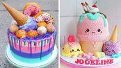最令人满意的彩色蛋糕装饰教程|美味蛋糕食谱|简单蛋糕装饰【Ruby Cake】 - 20200119
