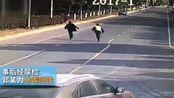 爆新鲜-20171216-实拍!苏州辅警被挂车窗外 遭疯狂拖行