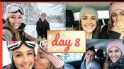 【生肉】【Steph and Kristen】VLOGMAS | We're Going Snowboarding!