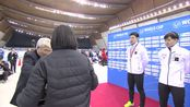 男子500米日本选手包揽前二 俄选手全程笑不露齿