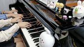 【四手联弹】勃拉姆斯A大调圆舞曲,Op.39,No.15;Waltz in A major,Op.39, No.15
