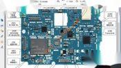 51-实物主板对照原件分布图和原理图认识手机元器件的代号