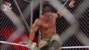 约翰塞纳生涯最凶悍的一幕,将多尔夫·齐格勒扛起抱摔!