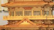 用竹编复刻的滕王阁,中国的竹编令世界震撼,愿这份手艺可以传承下去!