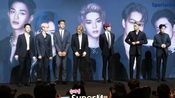 [cp]#EXO[超话]##SuperM[超话]# 2019-10-2上午2019-10-2韩国男团SuperM出席了在首尔龙山区举行的记者发布会1080超清