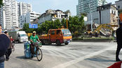 广州荔湾区地铁施工工地地陷后恢复单边通车