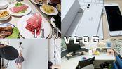 VLOG16 | 平稳度过11月/新发型/喜提iPhone11/孕妇照/探秘南京最贵月子会所