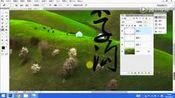 如何用PS制作一个照片水印-迪映像