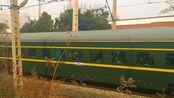 【铁路随拍】紧急抓拍!兰局兰段HXD3D-0101牵引挂有6节庞巴迪产BSP的Z378次列车(西宁-上海)通过渭南站